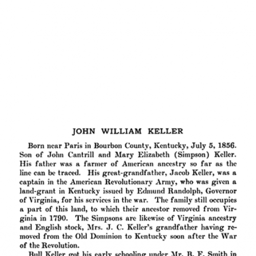 John William Keller