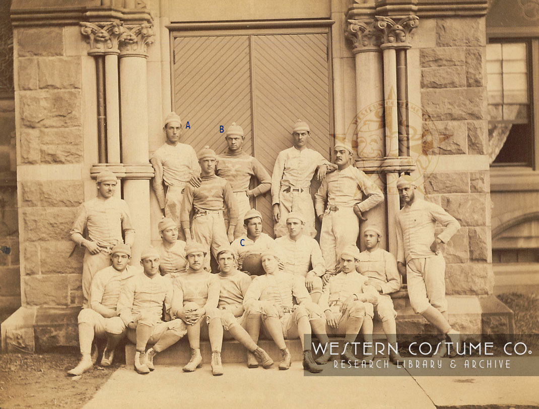 Yale Crew Team, 1879 - Western Costume Research Library